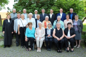Diamantene Konfirmanden treffen sich in Weimar