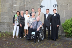 Goldene Konfirmation in Heckershausen