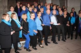 Gospelchor Lichtverteilung begeistert Konzertbesucher
