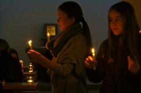 Friedenslicht aus Bethlehem am Kammerberg