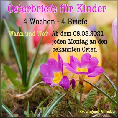 Osterbriefe für Kinder