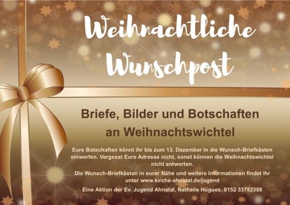 Weihnachtliche Wunschpost