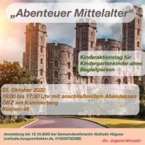 Abenteuer Mittelalter - ein Kinderaktionstag