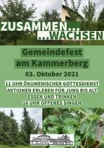 Zusammen...wachsen... - Gemeindefest am Kammerberg