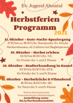 Herbstferienprogramm 2021