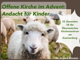 Offene Kirche im Advent: Andacht für Kinder