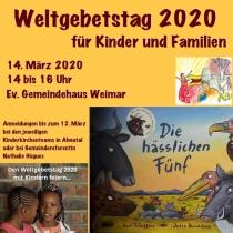 Weltgebetstag 2020 für Kinder und Familien
