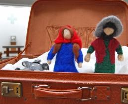 Ein Adventskoffer … in Ahnatal unterwegs