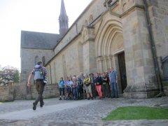 Gruppenbild an der Klosterkirche in Loccum